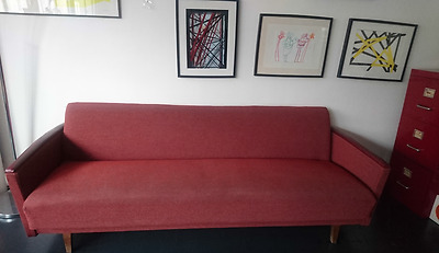 canapé daybed scandinave années 50-60