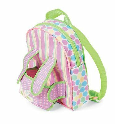 Manhattan Toy 113490 Baby Stella Backpack Carrier NEW