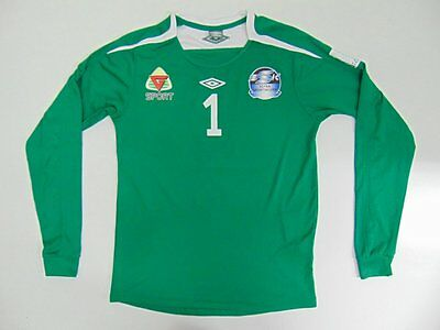 2000 2010 Umbro Sotra SK Norway home shirt football retro old long sleeve M #1