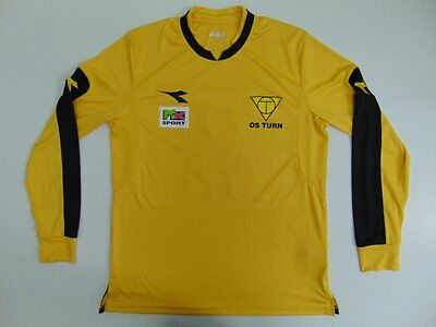 2005 2015 Diadora OS Turn home shirt jersey football retro long sleeve M #21