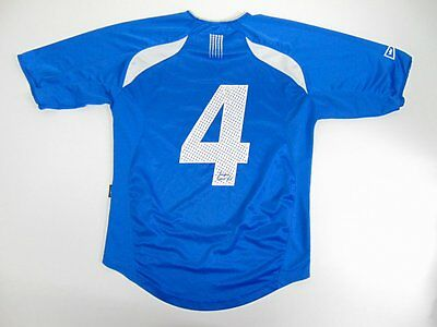 2000 2010 Salming SF Grei Norway Norge home shirt jersey soccer retro old S #4