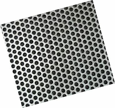 "PERFORATED 430 STAINLESS SHEET 24G x 30 3/4"" x 24"" 1/4"" Perfs 5/16 Centers"