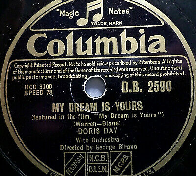 """DORIS DAY """"Someone Like You - feat. in the film """"My Dreams Is Yours"""" Columbia"""