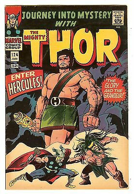 Journey Into Mystery 124   Hercules cover & story