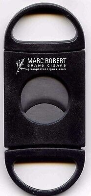 New - Guillotine Marc Robert Stainless Blades Cigar Cutter Tabac - Free Ship Usa