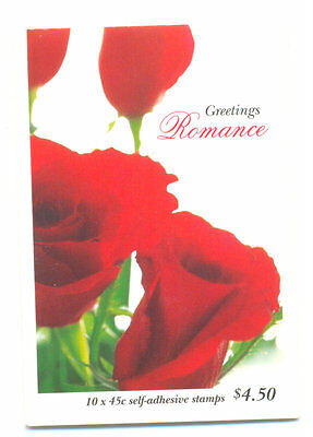 Australia-Roses-greetings booklet mnh - Flowers