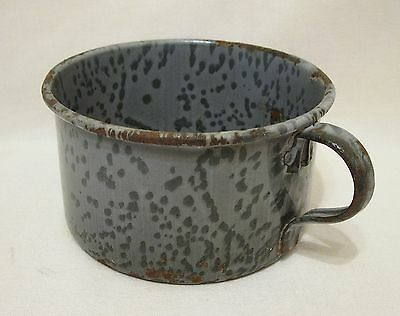 U.S. Army 1903 Experimental Enameled Granite Ware Cup Excellent Condition Rare