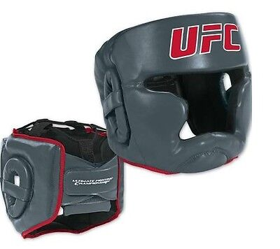 UFC Head Guard Helmet Boxing MMA Martial Arts Gear Protector Training UFC S/M
