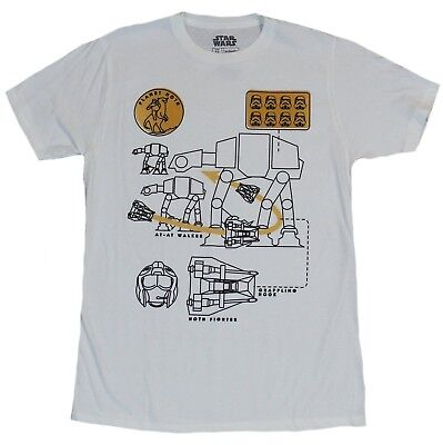 san francisco 5eb46 dd136 Star Wars Mens T-Shirt - Take Down an At-At With A Snowspeeder
