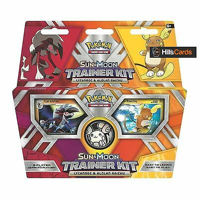 Pokemon TCG: Sun & Moon Trainer Kit: Lycanroc & Alolan Raichu - 2x 30 Card Decks