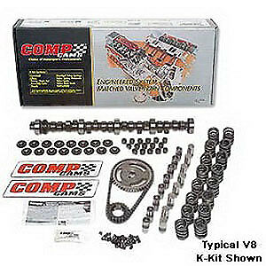 Comp Cams K34-224-4 High Energy 268H Hydraulic Flat Tappet Camshaft Complete Kit