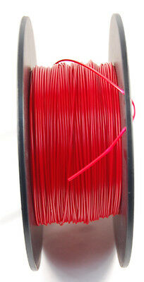 Makerbot ABS filament 1.75mm Reactive Red partial roll