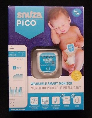 Brand New Snuza Pico Wearable Smart Monitor