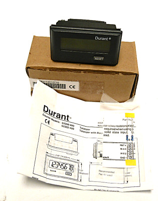 New Durant 53300400 Electronic Counter