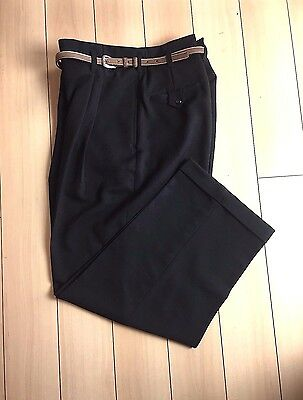Vintage 1940's-'50s  DROP LOOP Rockabilly Swankys Pants Hollywood Waist 38-44