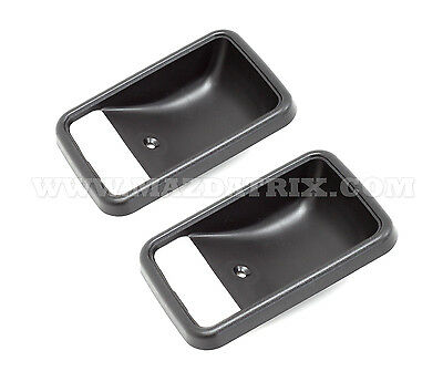 SOLD AS PAIR 1979-85 Mazda RX-7 Door Handle Cup Trim