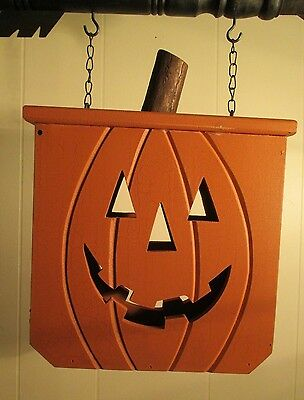 """PUMPKIN BOX"" Replacement Sign - Wood Sign for Country Arrow Holders"
