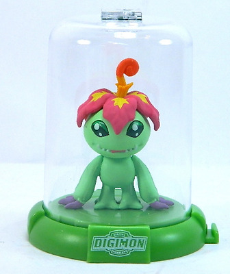 "1x DIGIMON DOMEZ PALMON 2"" COLLECTIBLE MINI ACTION FIGURE RARE NEW LIMITED"