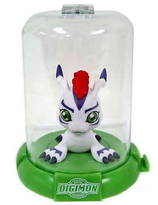 "1x DIGIMON DOMEZ GOMAMON 2"" COLLECTIBLE MINI ACTION FIGURE RARE NEW LIMITED"