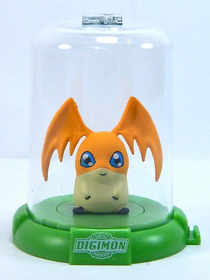 "1x DIGIMON DOMEZ PATAMON 2"" COLLECTIBLE MINI ACTION FIGURE RARE NEW LIMITED"