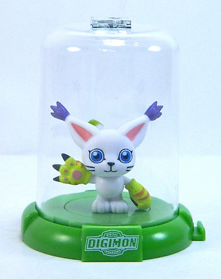 "1x DIGIMON DOMEZ GATOMON 2"" COLLECTIBLE MINI ACTION FIGURE RARE NEW LIMITED"