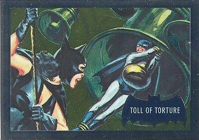 2016 DC Comics Justice League DC7-P1 Batman Classic TV Toll Of Torture NSU Card!