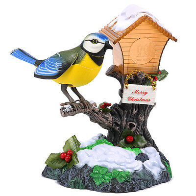Beautiful Talking Parrot Repeat Bird Voice Recorder Pen Holder Toy - Ideal Gift