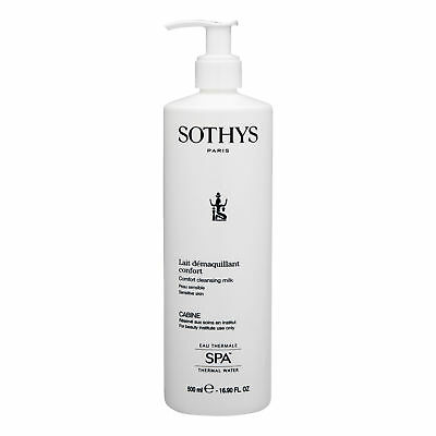 SOTHYS Comfort Cleansing Milk 500ml Sensitive Skin Face Wash Soothing Cleanser