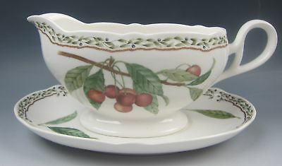 Noritake China ROYAL ORCHARD Gravy Boat & Unattached Underplate EXCELLENT