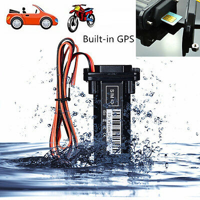 New GSM GPS Tracker Built-in Battery Anti-theft Security Tracking Device For Car