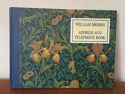 William Morris Address & Telephone Book HC Arts & Crafts Some Writing in Pencil