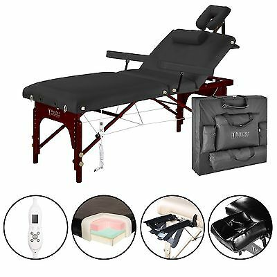 "Master Massage 31"" 3 Section Montclair Salon SPA Therma Top Portable Table Bed"