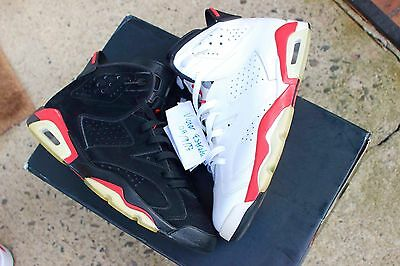 Air Jordan Retro 6 White Infrared Pack 384664-103 Adidas Boost Mag Yeezy Air Max