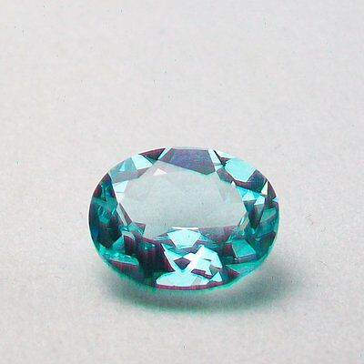 Video 2.85ct Natural Blue Copper Bearing Paraiba Tourmaline Loose Oval 8x10mm
