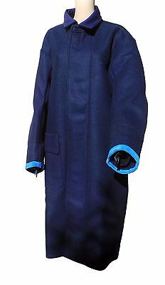 Welding Coat Long Wool Furnace Protective Weld Size L Glo-Safe