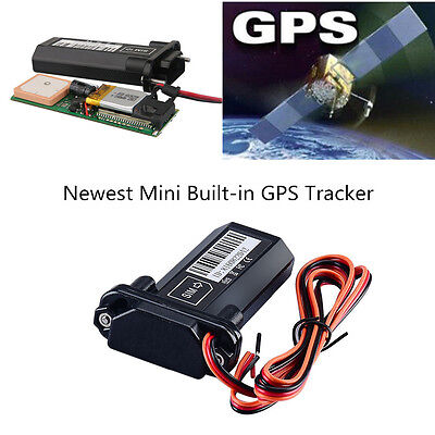 Mini GPS Tracker for Car Motorcycle Scooter Vehicle RealTime Online Tracking 1x