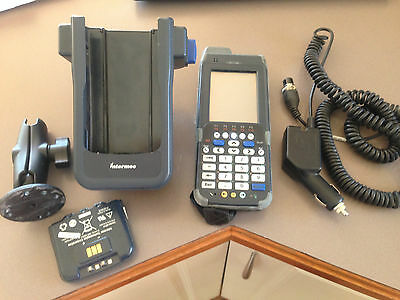 Intermec CN4E Mobile Wireless Computer Barcode Scanner & Charge Dock 8 Avail