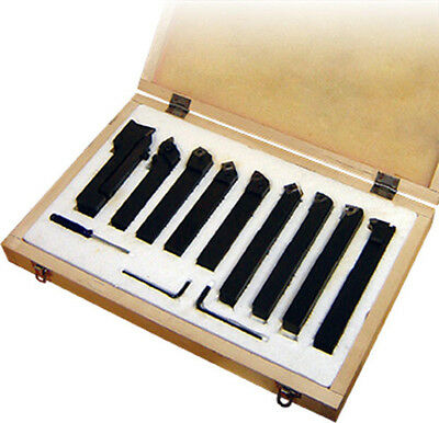 Clamped Carbide Turning Tool Set