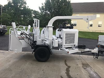 Brush bandit 250xp turbo diesel wood chipper