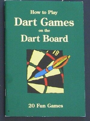 "Dart Games Book ""20 Fun Dart Games to Play"" - Less 30% DISCOUNT"
