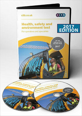 2017 New DVD CSCS Card Test for Operatives & Specialists Latest Edition