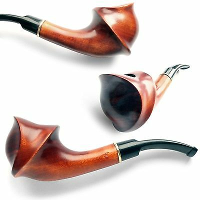 Tobacco Smoking Pipe Excellent quality Smoking Pipes Pear wood  Handcrafting NEW