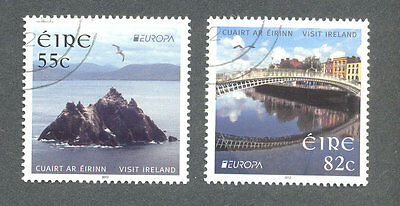 Ireland-Europa 2012 fine used set