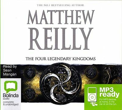 Matthew REILLY / The FOUR LEGENDARY KINGDOMS       [ Audiobook ]