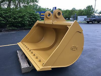 "New 72"" Caterpillar 324 / 325 / 328 /329 Ditch Cleaning Bucket with CB Linkage"