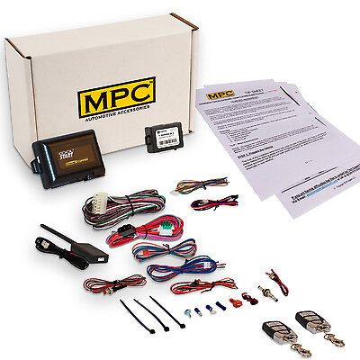 Complete Remote Start & Keyless Entry Kit For Select Honda & Acura [1998-2013]