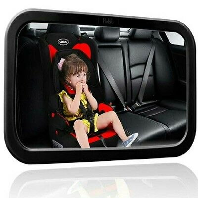 Large Baby rear view Mirror For Car - to See Babies and Children