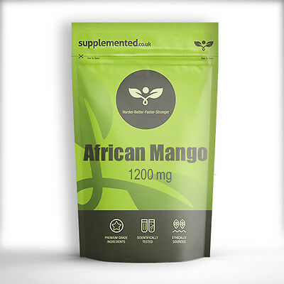 AFRICAN MANGO 1200mg TABLETS, Diet weight loss ✔UK Made ✔Letterbox Friendly