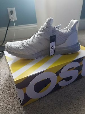 Adidas Ultra Boost 3.0 Crystal White And Silver Size Men s 9 Style Code  BA8922 784be64153
