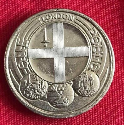 Capital City LONDON £1 One Pound Coin